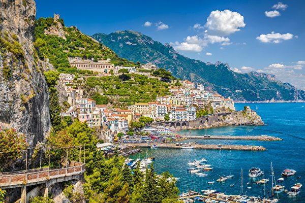 意大利阿馬爾菲海岸自駕遊   Amalfi Coast   國家地理雜志   大紀元