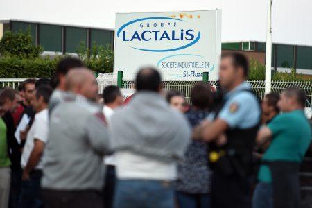 由於法國有兒童疑因飲用法國嬰兒奶粉製造商拉克塔利斯公司(圖)的產品而生病,公司與法國衛生當局下令全球大規模召回。