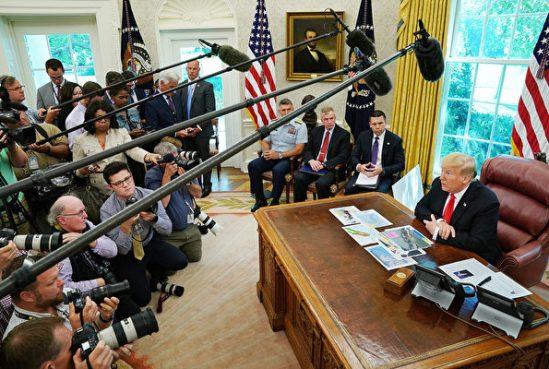 川普:美中貿易談判不想討論華為問題