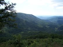 The unnamed overlook could be Bacon Hollow Overlook.