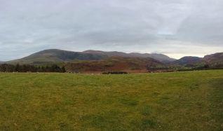 Hills around the Castlerigg Stone Circle
