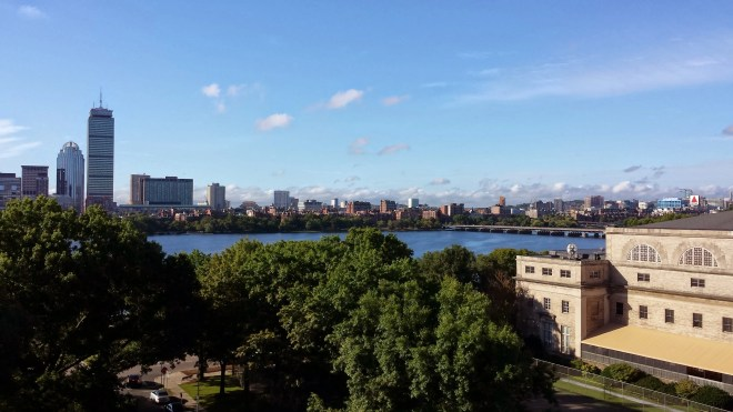 Boston from MIT's Media Lab