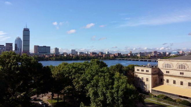 Boston from MIT's Media Lab