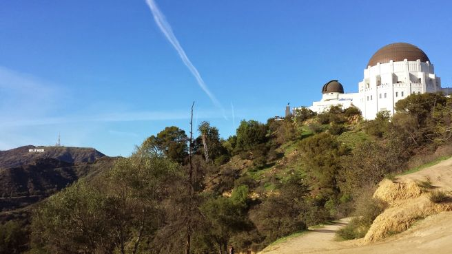 Griffith Observatory & Hollywood sign