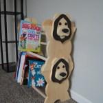 Stackable Lion Bookshelf Kids Furniture Kid S Bookshelf Etsy