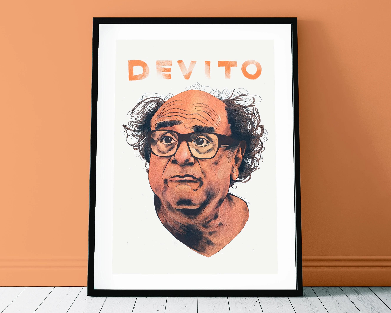 danny devito poster print