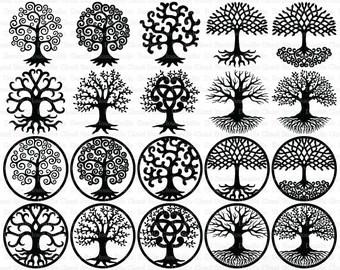 Tree Of Life Clipart Etsy