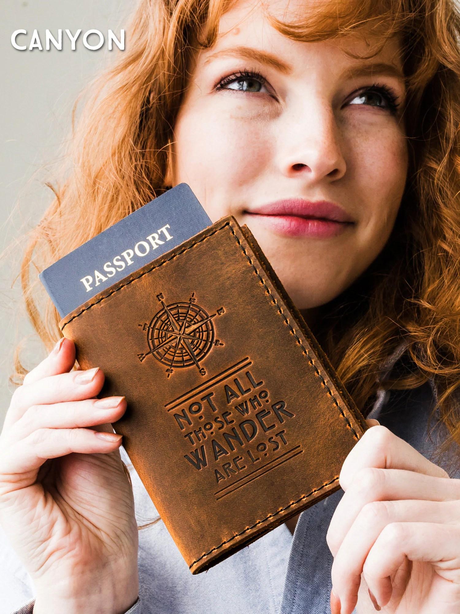 Passport Cover Travel Passport Personalized Cover... Custom image 8