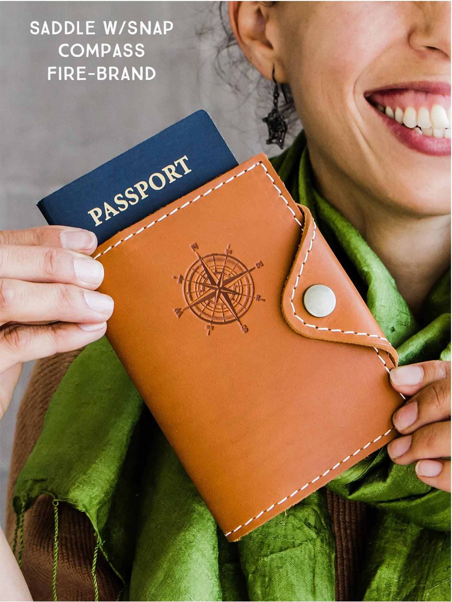 Passport Cover Travel Passport Personalized Cover... Custom image 2