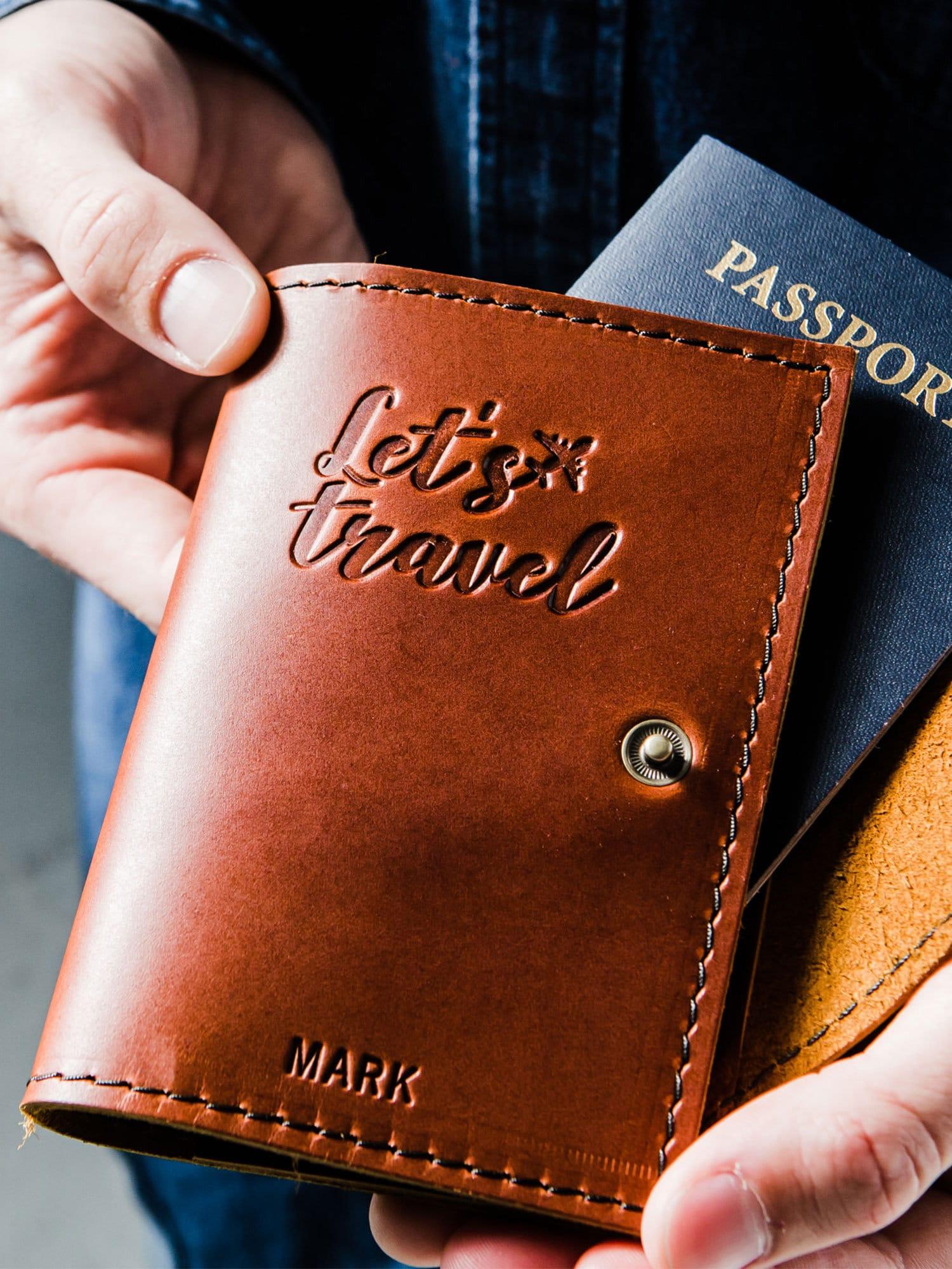Passport Cover Travel Passport Personalized Cover... Custom image 3