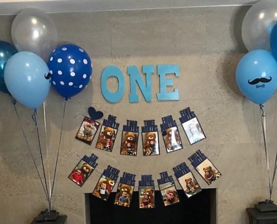 Sale Boy Birthday Party Decorations Boy First Birthday Etsy