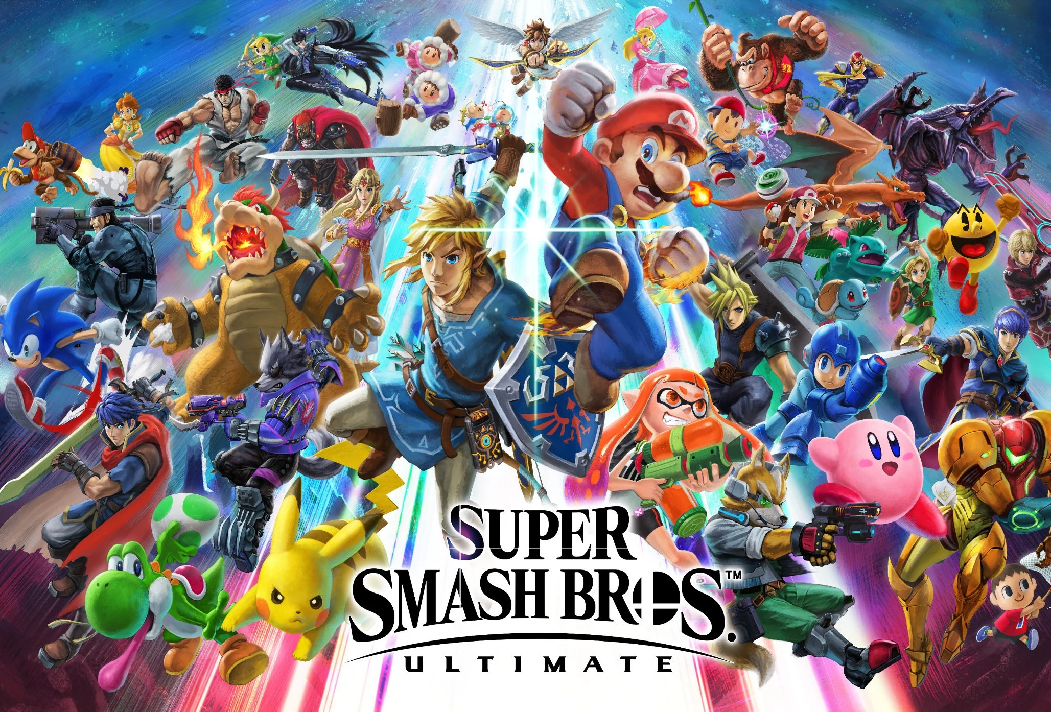 Super Smash Bros Ultimate Poster 13x19 Etsy