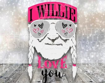 Download Willie nelson svg   Etsy