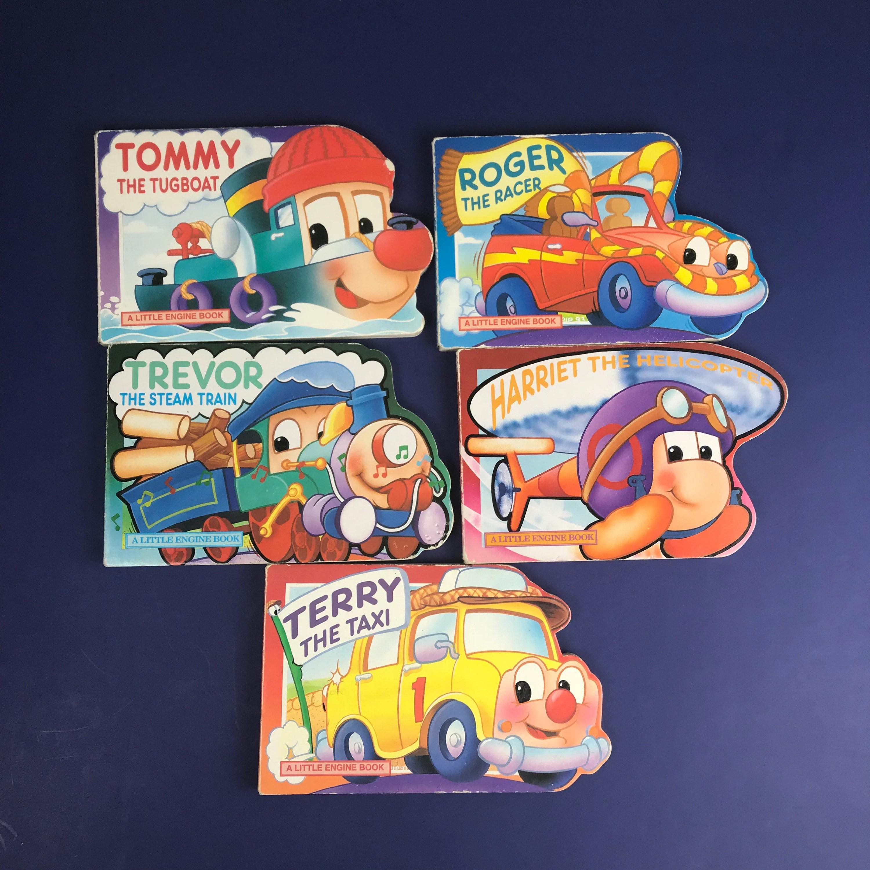 A Little Engine Book Series Set Of 5 Vintage Toddler Board