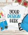Mockup Back To School Bella Canvas 3001 Kid Toddler T Shirt Etsy