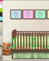 8x10 Frame On Nursery Wall Photoshop Print Mockup 4 Png Etsy