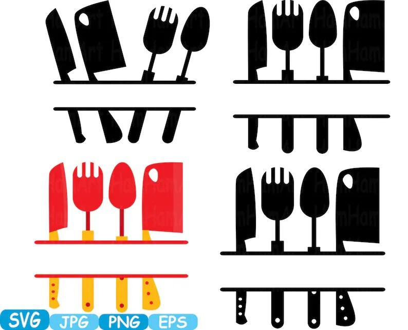 Download Kitchen SVG file Cutting files Cricut & Cameo Kitchen ...