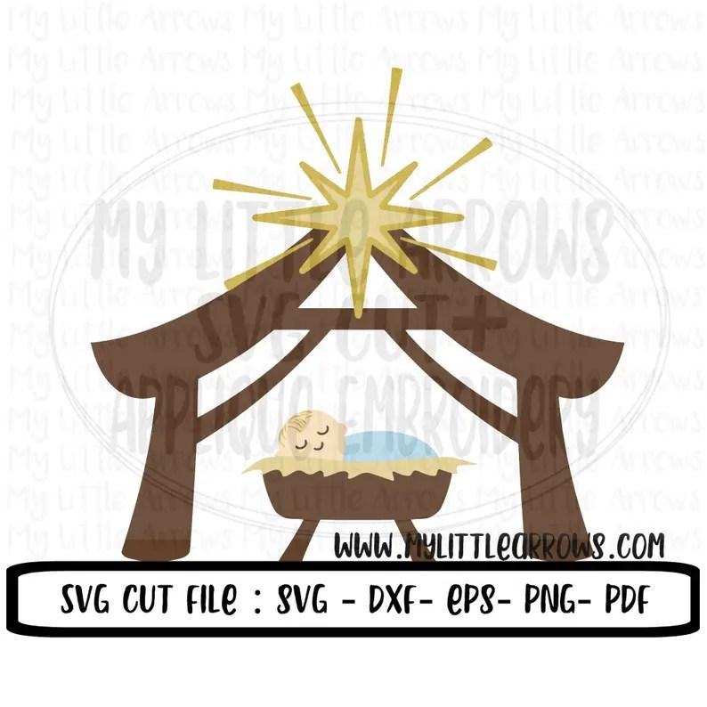 Download Nativity svg Christmas true love svg manger svg nativity ...