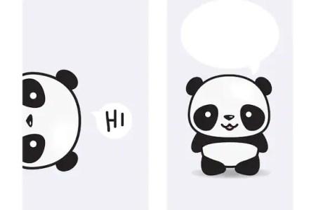 On Lock Screens Pinterest Chibi And Cartoon Panda Cute Wallpaper Desktop Phone Wallpapers Pandas Unicorns For