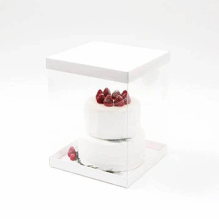 Baking Boxes   Large   Clear Cake Box   Plain   Wedding Cake   Etsy image 0