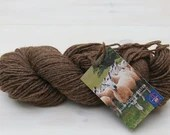 West Yorkshire Spinners (WYS) - Bluefaced Leicester - British Wool - Knitting wool - undyed yarn - Colour: Brown #003  - 100g DK weight