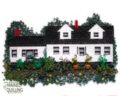 Custom Paper Quilled Replica Home | Miniature Paper House | Made to Order