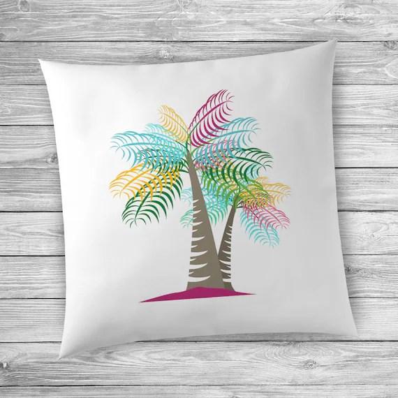 Summer Home Decor Ideas Palm Tree Pillowcase Beach Decor Ideas Beach Decor Accessories