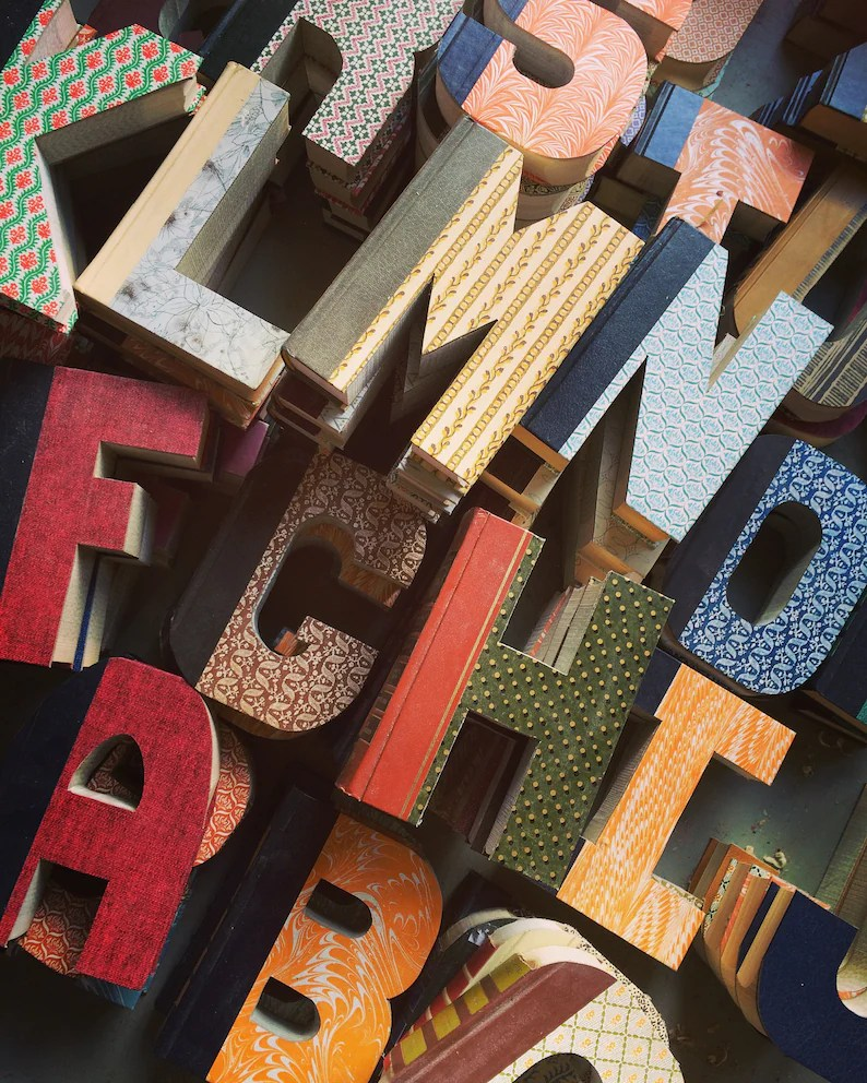 These letters make great gifts for book lovers