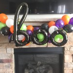 Halloween Balloons Halloween Party Decor Halloween Balloon Garland Halloween Garland Orange And Black Balloons Boo Balloons