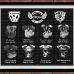1911 2017 Harley V Twin Engines Poster Harley Davidson Decor Harley Hog Engines Drawing History Of Harley Davidson Engines