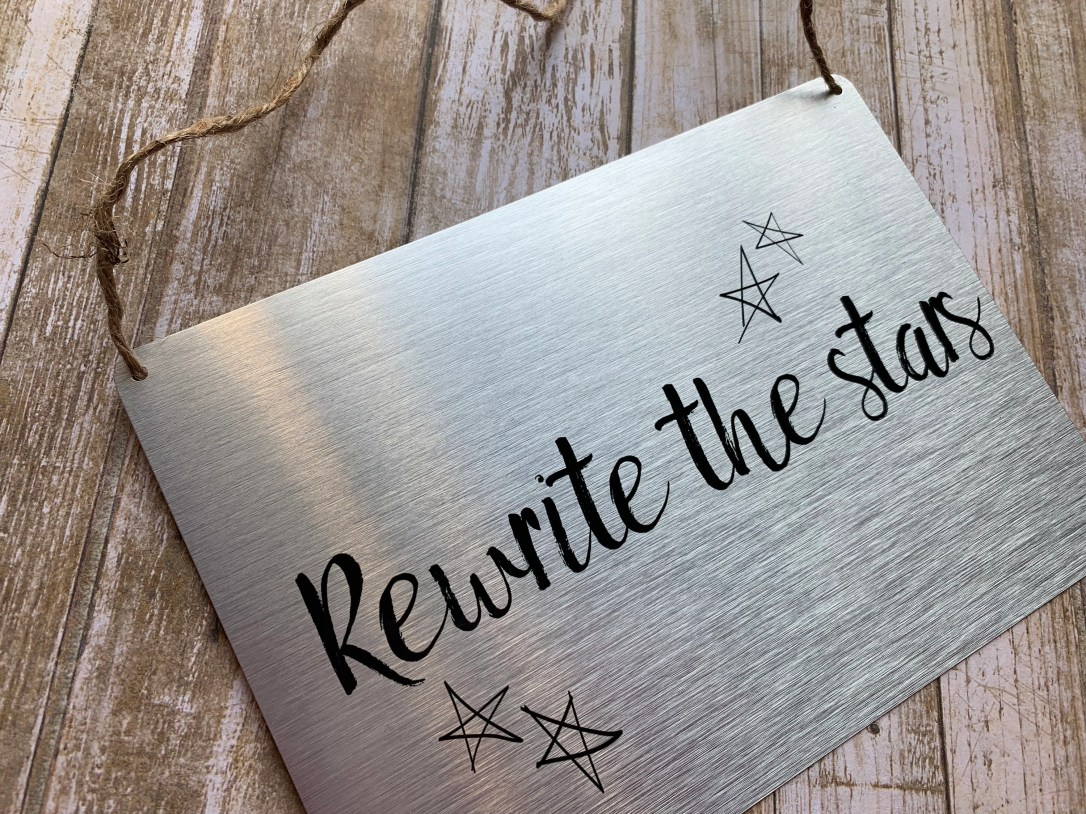 Silver or Gold Door Plaque Hanger (The Greatest Showman inspired)