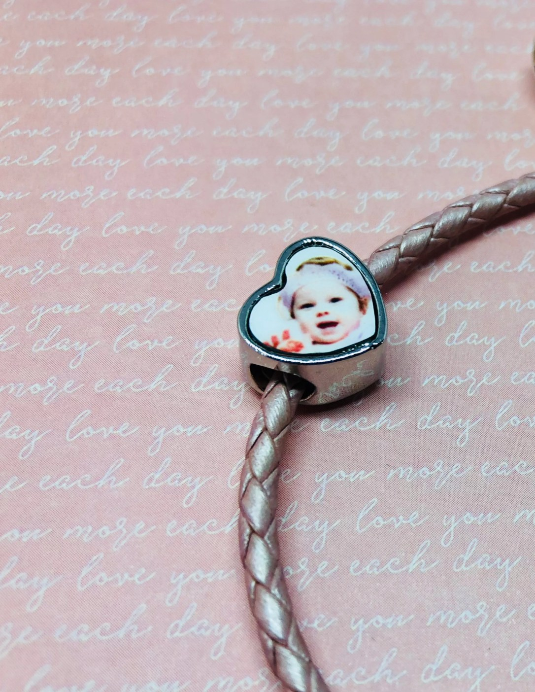 Personalised Photo Charm/...