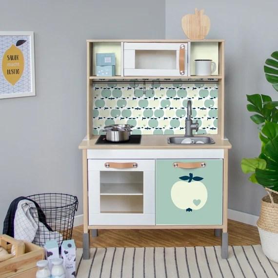 Duktig Accessori Per Bambini Cucina Ikea Adesivo Adesivi Apple E Mobili Lamina Bygraziela Asilo Nido Baby Room Mobili Non Inclusi