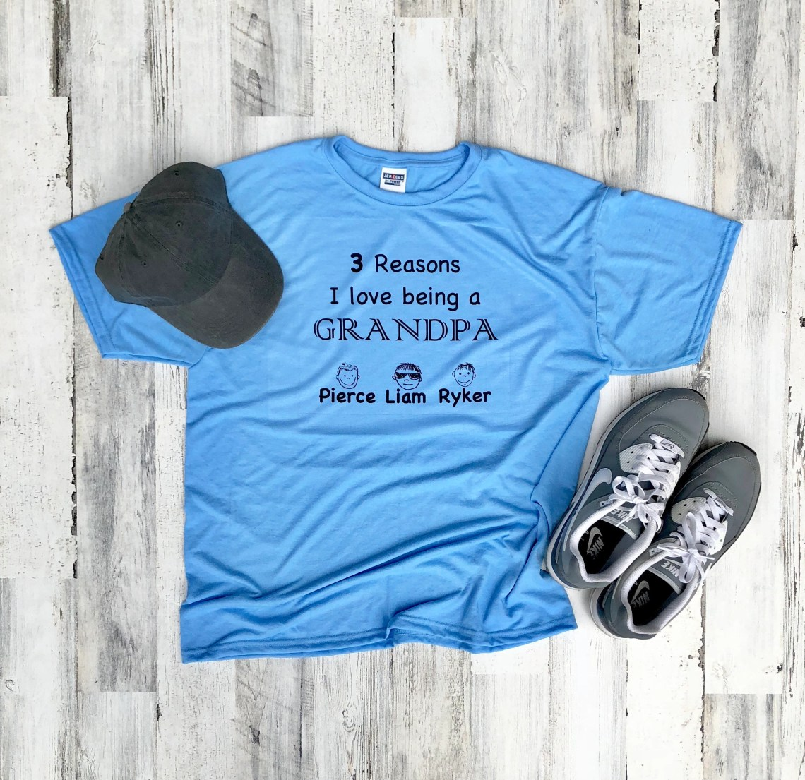 Download Fathers Day Shirt - Reasons I love Being a Grandpa Shirt ...