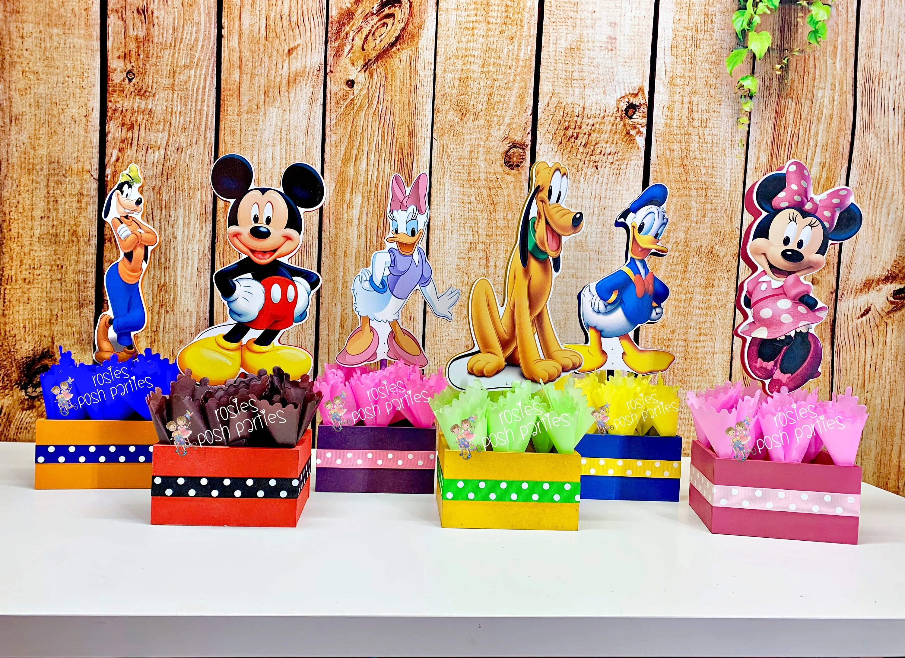 Mickey Mouse Clubhouse Birthday Party Wood Guest Table Etsy