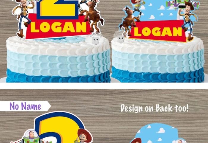 Toy Story Cake Topper Toy Story Centerpiece Toy Story Etsy