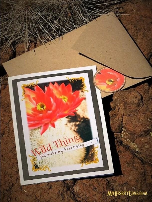 Cactus Red Flower Custom ...