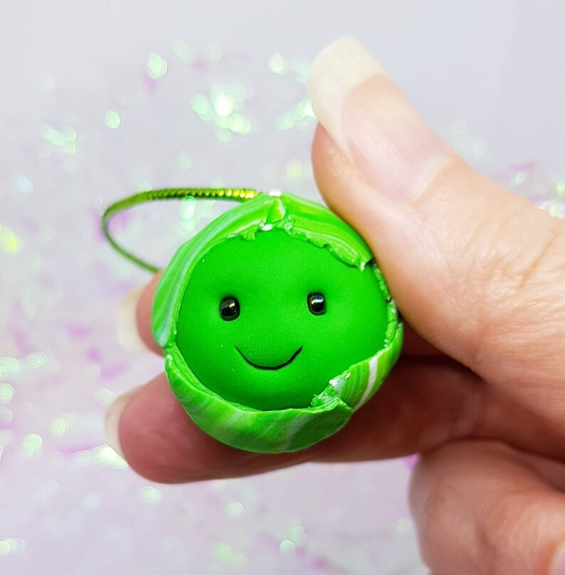 brussel sprout tree decoration novelty sprout gift Christmas image 0