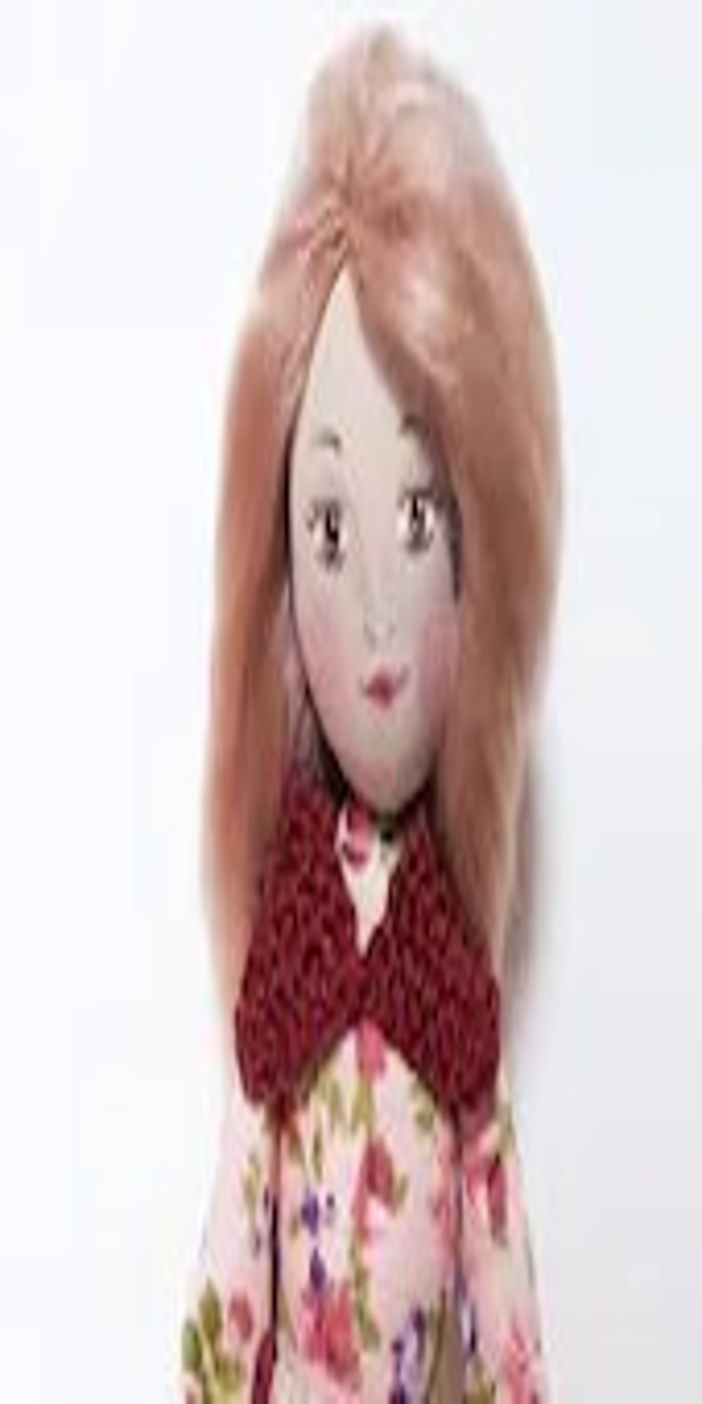 Cloth doll, Handmade, sof...