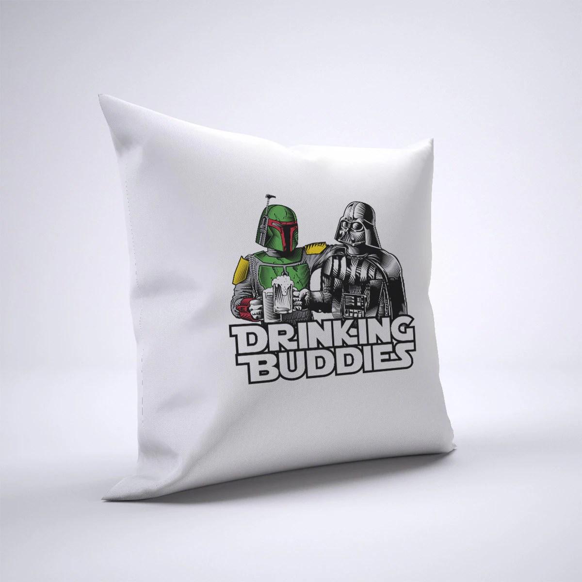 funny darth vader boba fett pillow case