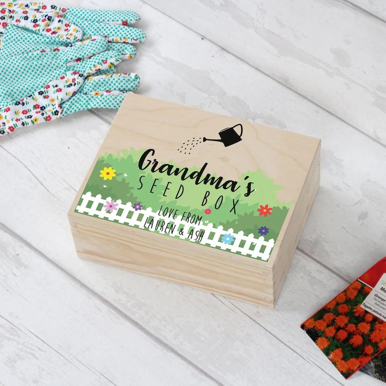 Personalised Seed Box By LoveEmmaDesign