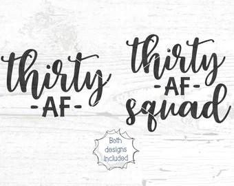Download Thirsty 30 svg | Etsy