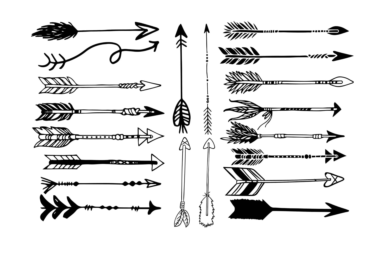 Arrow Svg Arrow Clipart Arrow Silhouette Arrow Svg File