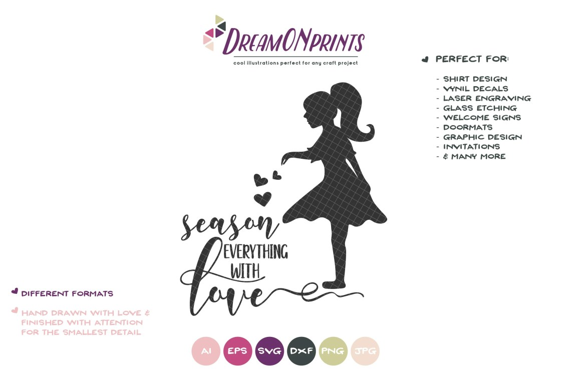 Download Season Everything with Love SVG Cut File, Kitchen SVG ...