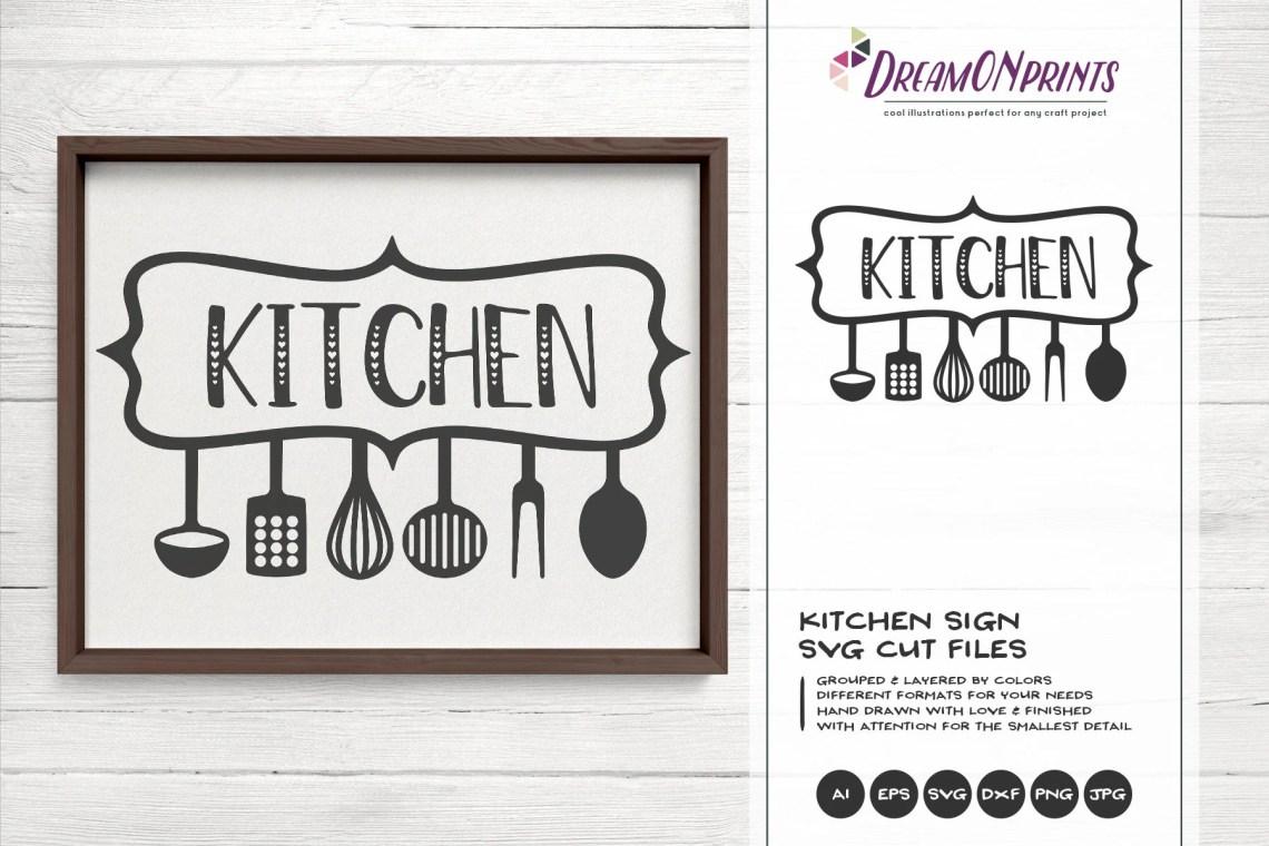 Kitchen SVG, Kitchen Sign SVG, Apron Svg Designs, Sign ...