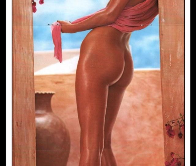 Mature Playboy July 1980 Playmate Centerfold Teri Peterson Gatefold 3 Page Spread Photo Wall Art Decor