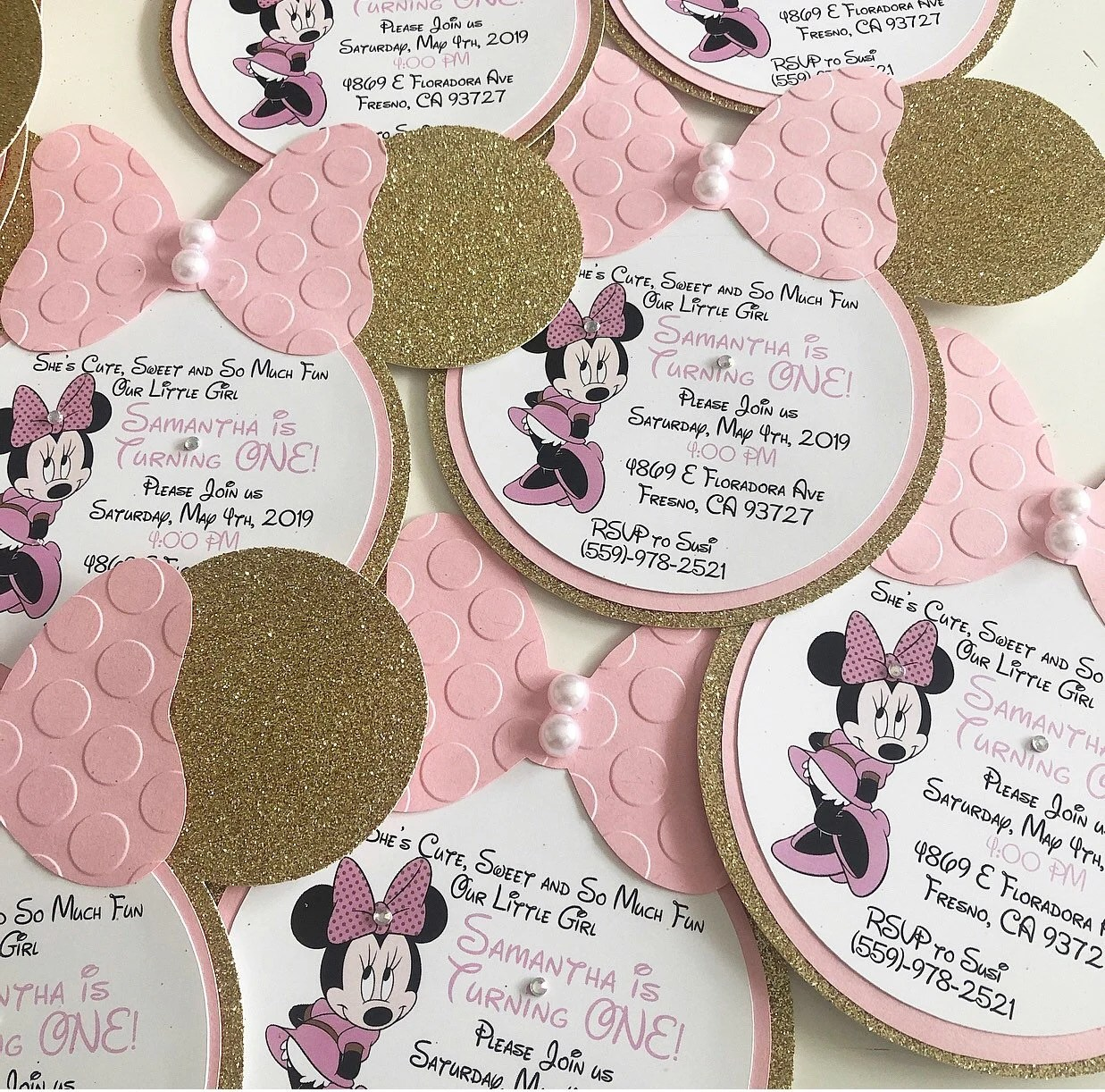 minnie mouse birthday invitation pink and gold minnie mouse party invitation minnie mouse pink and gold birthday invitation