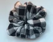 Hand made knit scrunchies