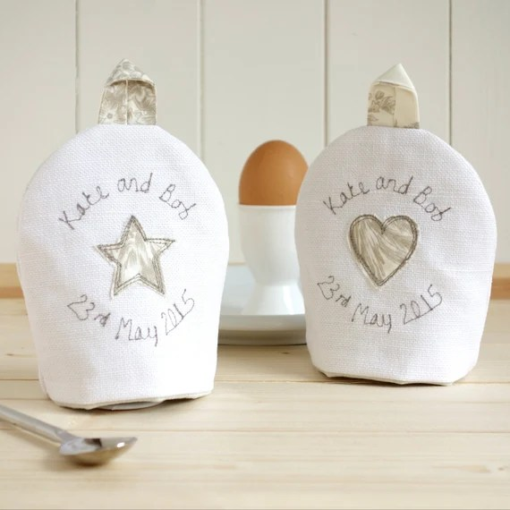 Personalised Egg Cup Cosies