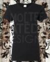 Flat Lay Background Tee T Shirt Mockup Black Gildan 6400 Etsy